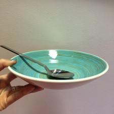 Тарілка глибока 21 см, TURBOLINO BLUE, COSY TRENDY