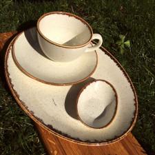 Чашка чайная 200 мл с блюдцем 160 мм в наборе