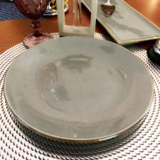 Sidina серая Тарелка круглая 240 мм