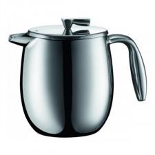 Чайник/кофеварка френч-пресс с двойными стенками COLUMBIA, матовый  0,5л Bodum