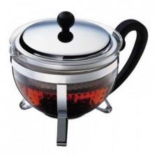 Чайник  заварочный с ситечком из нержавеющей стали CHAMBORD, 1,5 л Bodum