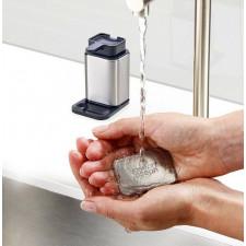 Дозатор для жидкого мыла со стальным бруском для устранения запаха 10.6Ш x 14.5В x 7.9Г Joseph
