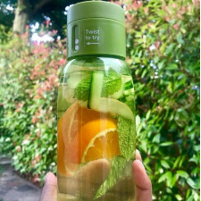 Бутылка для воды 400 мл с фиксацией объема выпитой жидкости Joseph