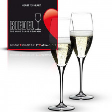 Набор бокалов для шампанского 330мл HEART TO HEART 2пр 6409/08.Riedel
