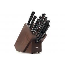 Блок с коваными ножами, 12 пр. Classic Wuesthof