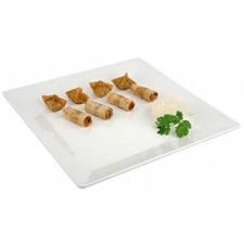 Блюдо меламин, квадратное 21х21см, белое APS