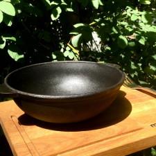 Сковорода WOK чугунная 18х6,3см Brizoll HoReCa