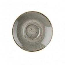 Блюдце 15,6см STONECAST Peppercorn Grey