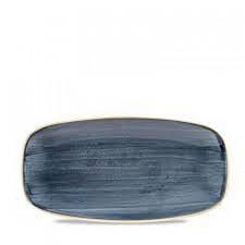 Блюдо прямоугольное  29.8x15.3см STONECAST Blueberry