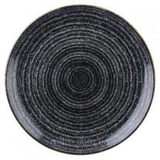Тарелка 28,8см STUDIO PRINTS HOMESPUN Charcoal Black