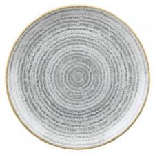 Тарелка 16,5см STUDIO PRINTS HOMESPUN Stone Grey