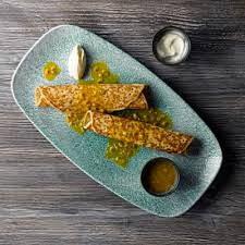 Блюдо прямоугольное 29,8x15,3см STUDIO PRINTS RAKU Jade Green