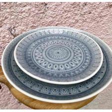 Тарелка 21 см Восток (серый)