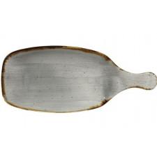 Блюдо сервировочное 28,4см STONECAST Peppercorn Grey
