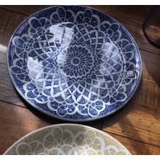 Тарелка NOMAD BLUE 25 см Steelite