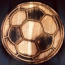 Доска круглая Мяч 32см (дуб)