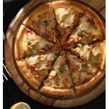 Доска круглая Пицца 32см (дуб)