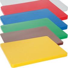 Доска разделочная пластиковая разных цветов 40х30х2см Empire