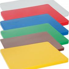 Доска разделочная пластиковая разных цветов 60х40х5см Empire