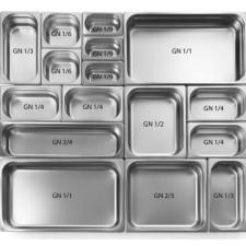 Гастроемкость GN1/3, h-100 мм, 325x176 мм, v-3,7 л Stalgast