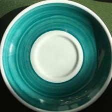 Блюдце 14,5 см Green Teal  Ancap