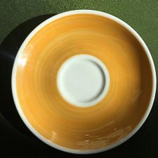 Блюдце 14,5 см Yellow Ancap