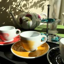 Чашка espresso 75 мл Yellow stroke B Ancap