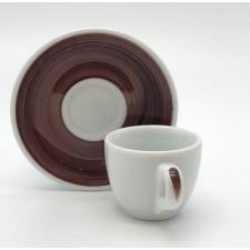 Чашка espresso 75 мл Brown stroke B Ancap