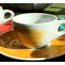 Чашка cappuccino 180 мл Yellow Ancap