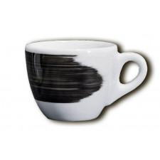 Чашка cappuccino 180 мл Black stroke B Ancap