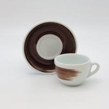 Чашка cappuccino large 260 мл Brown stroke B Ancap
