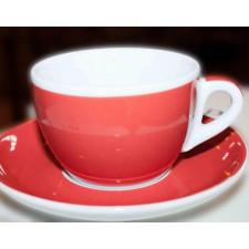 Блюдце caffe latte 16,7 см Red Decal Print Ancap