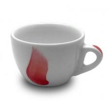 Чашка cappuccino 180 мл Fiamma Red Ancap