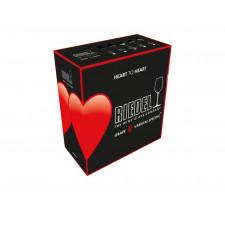 Набор бокалов 2 шт.для PROSECCO 0,305 л 6409/85 HEART TO HEART)  Riedel