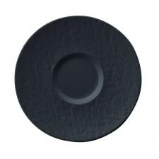 Блюдце 12смThe Rock Black (10-4239-1430) V&B