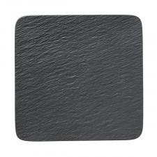 Тарелка квадратная 32x32см The Rock Black(10-4239-2680) V&B