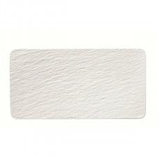 Тарелка прямоугольная 28x17см The Rock White  V&B