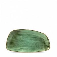 Блюдо прямоугольное 30*15,5см, Stonecast Samphire Green Churchill ПОД ЗАКАЗ упаковка-12шт