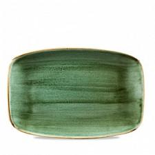 Блюдо прямоугольное 30*19,9см Stonecast Samphire Green Churchill ПОД ЗАКАЗ упаковка-6шт