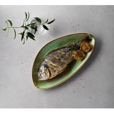 Блюдо треугольное глубокое 35.5X18.8см  Stonecast Samphire Green  Churchill ПОД ЗАКАЗ упаковка-6шт