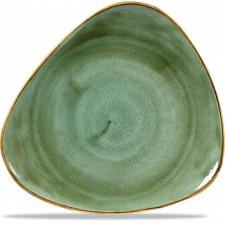 Блюдо треугольное 31,1см Stonecast Samphire Green  Churchill ПОД ЗАКАЗ упаковка-6шт