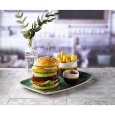 Блюдо прямоугольное 34,4*23,4см Stonecast Samphire Green  Churchill ПОД ЗАКАЗ упаковка-6шт