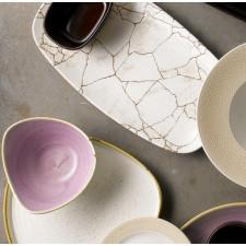 Блюдо прямоугольное 29.8x15.3cm Studio Prints Kintsugi Agate Grey Churchill ПОД ЗАКАЗ упаковка-12шт