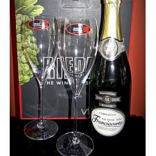 Набор бокалов 2шт для шампанского Vintage 0,343л_6416/28_VINUM Riedel