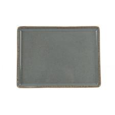 Sidina Dark Gray Тарелка прямоугольная 350x260 мм