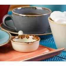 Чашка чайная 200 мл с блюдцем 160 мм в наборе Sidina серая