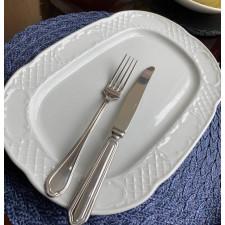 Блюдо прямоугольное мелкое 34 см  FLORA  GURAL