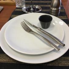 Тарелка мелкая ENT 25см Kutahua