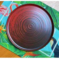 LYKKE RED Тарелка плоская 24 см