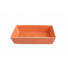 """Sidina Orange""Салатник прямоугольный 130 мм"
